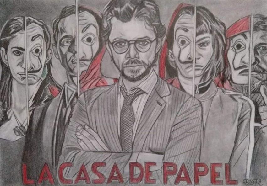 Álvaro Morte by beasalsa